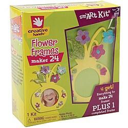 Fibre-Craft Creative Hands Flower Frames Foam Kit