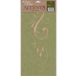 Stencil Magic Accents Elegant Scroll Stencil
