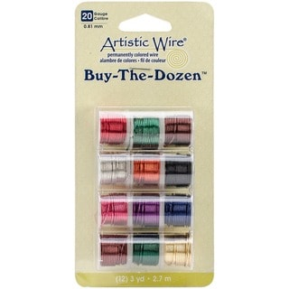 Artistic Wire Buy the Dozen Colored 20-gauge Wire (Pack of 12 spools)