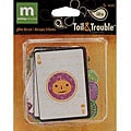 Toil and Trouble Halloween Glitter Die-Cuts