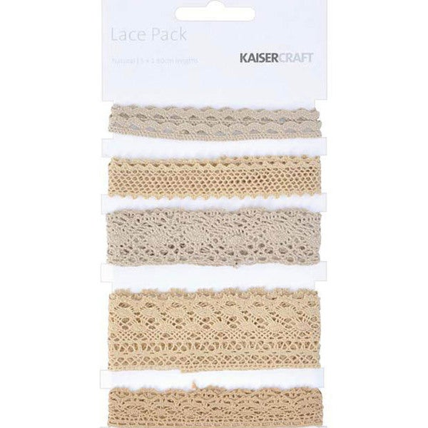 Kaisercraft Natural Lace Pack