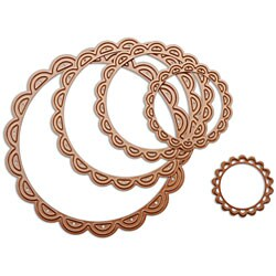 Spellbinders Nestabilities Lacey Circles Decorative Elements Dies