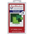 Spellbinders Nestabilities Lacey Squares Decorative Elements Dies