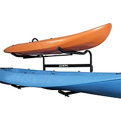 Glacik G-100 Ground-level 2-boat 'C-Deck' Kayak Rack