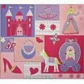 Amanda Blue Princess Carriage Fabric Album (12 x 12)