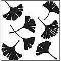 The Crafters Workshop Ginko Leaves Template