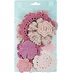 Sweet Taffy 12-piece Pink Decretive Flowers