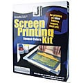 Jacquard Opaque Colors Silk Screen Printing Kit