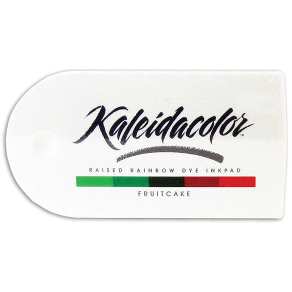Kaleidacolor Fruitcake Raised Rainbow Dye Ink Stamp Pad