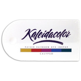 Kaleidacolor Calypso Raised Rainbow Dye Ink Stamp Pad