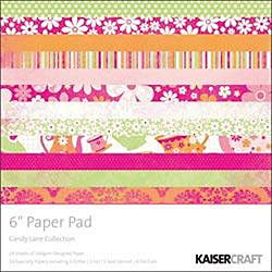 Candy Lane 24-sheet Paper Pad
