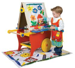 Alex Toys Double-sided Super Rolling Art Easel
