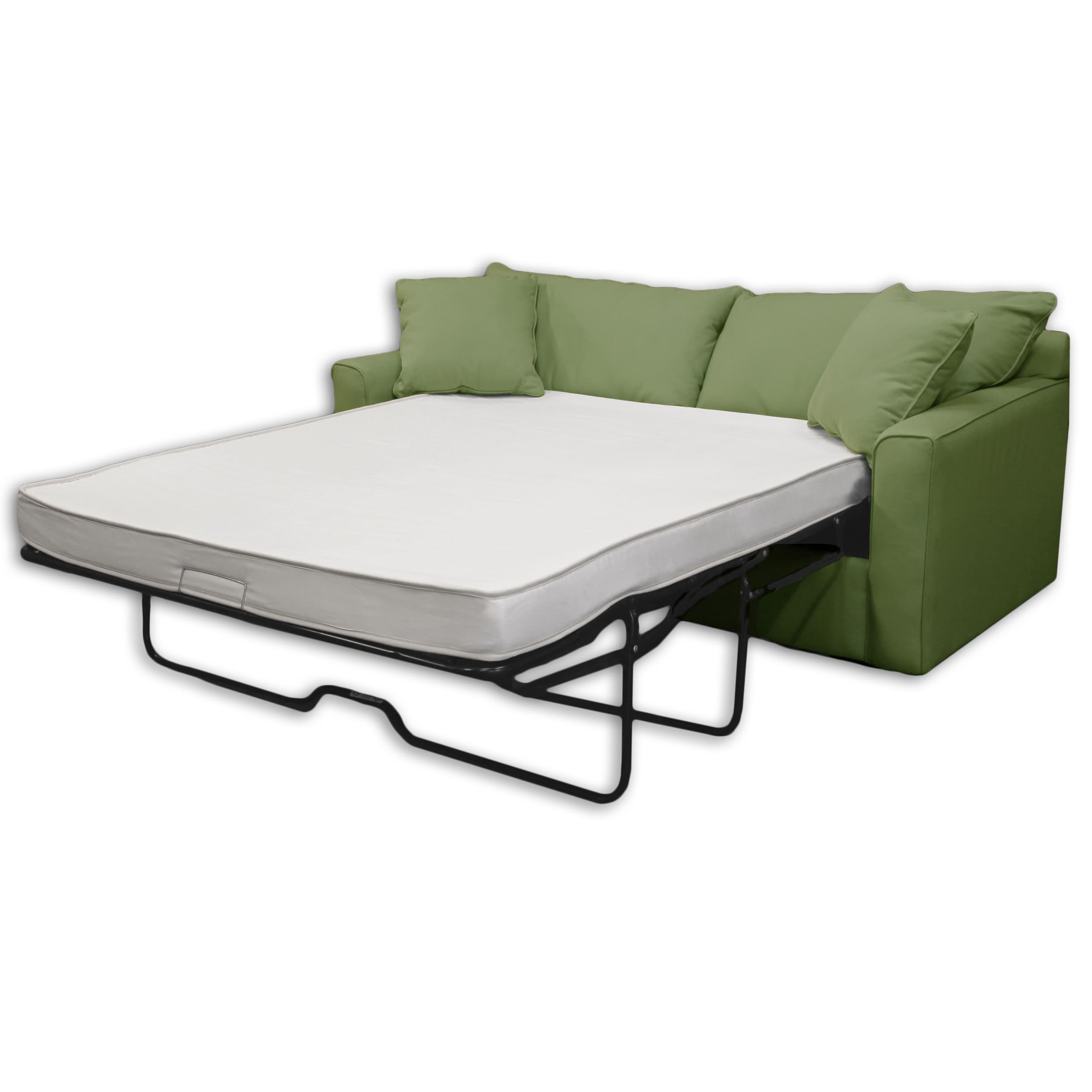 Select Luxury Reversible 4 inch Twin size Foam Sofa Bed