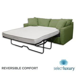 Select Luxury Reversible 4-inch Full-size Foam Sofa Bed Sleeper Mattress