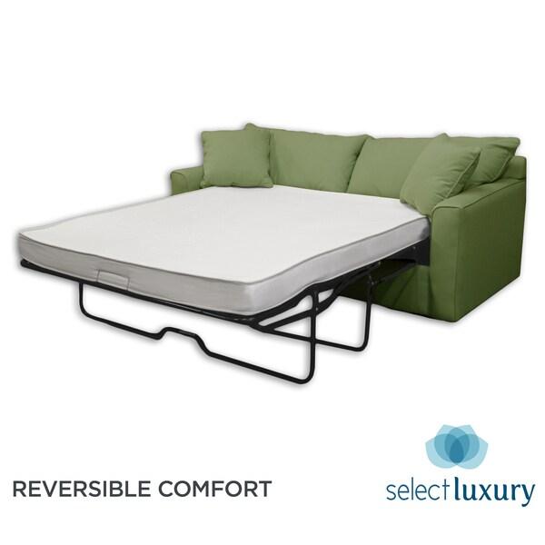 Select Luxury Reversible 4 Inch Full Size Memory Foam Sofa