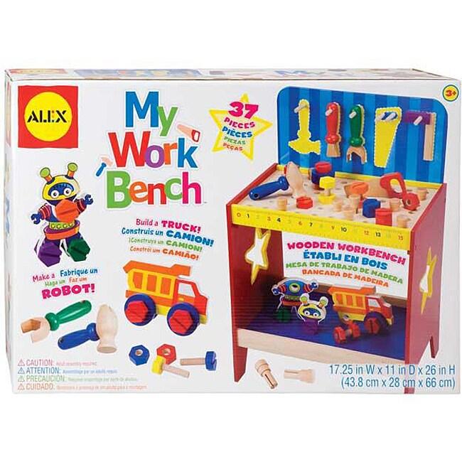 Alex Toys My Work Bench Building Set