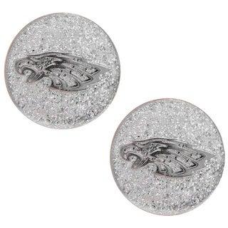 Philadelphia Eagles Glitter Stud Earrings