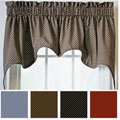 Tyvek Empress Valance 2-piece Swag Set