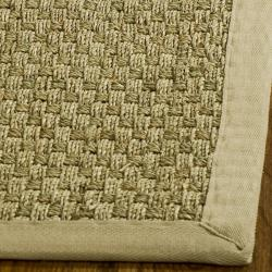 Hand-woven Sisal Natural/ Beige Seagrass Runner (2' 6 x 4')