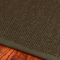 Hand-woven Resorts Brown Fine Sisal Runner (2'6 x 10')