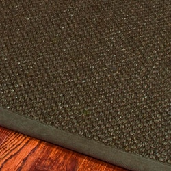 Hand-woven Resorts Brown Fine Sisal Runner (2'6 x 14')