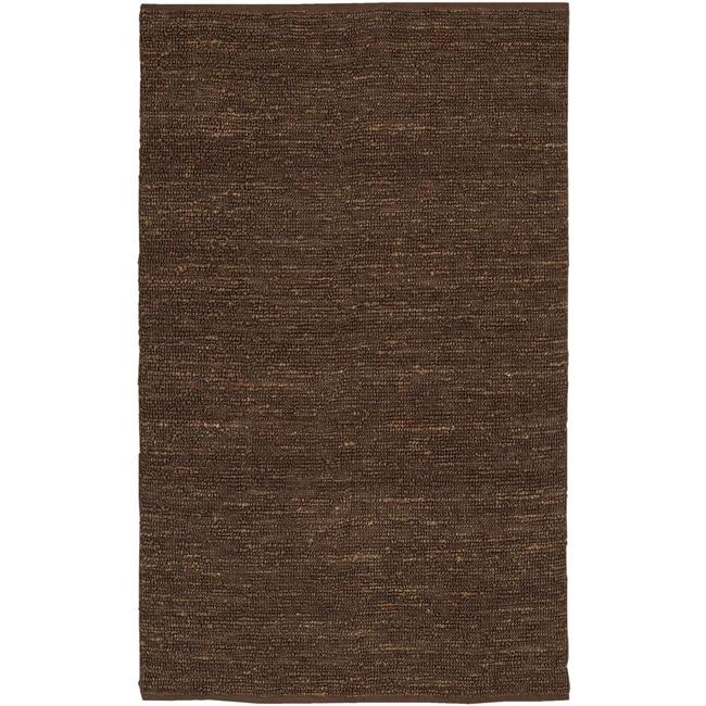Hand-woven Cottage Brown Natural Fiber Jute Rug (8' x 11')