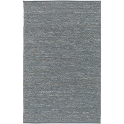 Hand-woven Cottage Grey Natural Fiber Jute Rug (5' x 8')