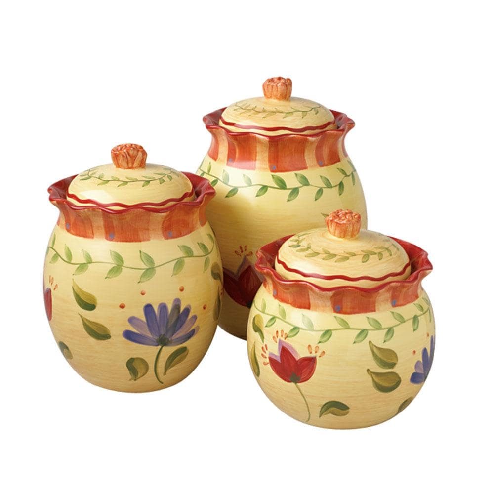 Pfaltzgraff Napoli 3-piece Sealed Canister Set