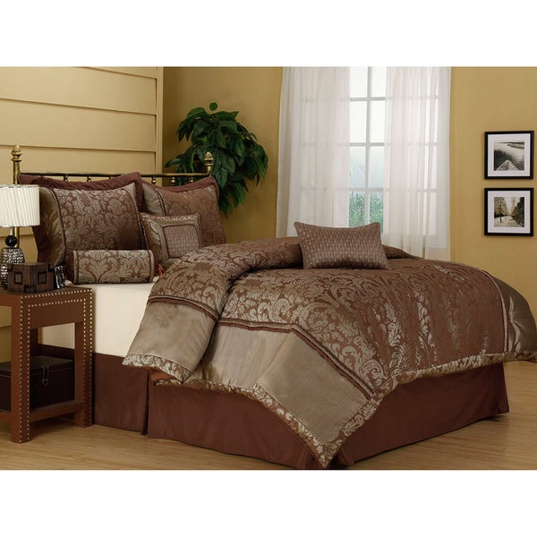 Manville Jacquard 7-piece Comforter Set