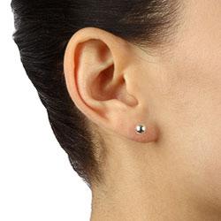 Sterling Essentials Sterling Silver Stud Earrings (Set of 5)
