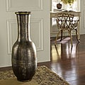 Antique Gold Floor Flare Vase (Indonesia)
