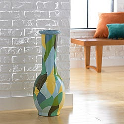 Patchwork Small Floor Vase (Indonesia)