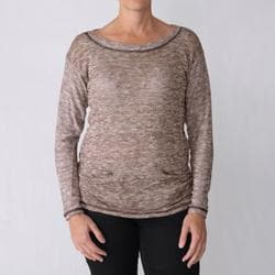 California Bloom Women's Two-pocket Lurex Sweater