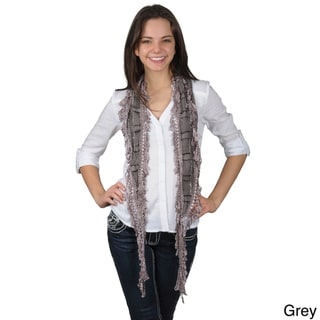 Hailey Jeans Co. Pretty Angel Women's Elegant Lacy Detail Scarf