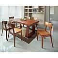 Emily New Oak 7-piece Dining Set