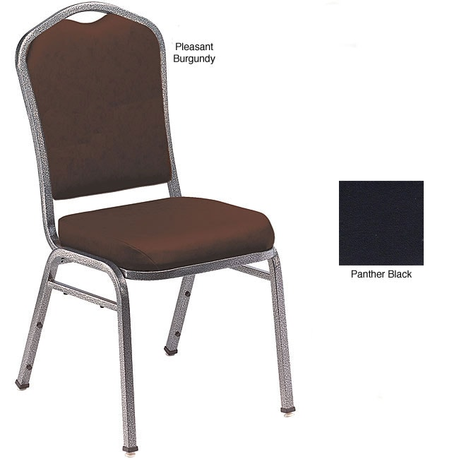 NPS Silhouette Style Vinyl Stacking Banquet Chair (Pack of 2)