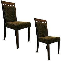 Warehouse of Tiffany Olive Dining Chairs (Set of 8)