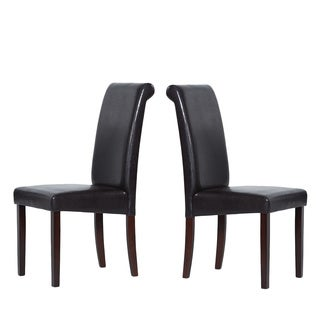 Warehouse of Tiffany Brown Dining Chair (Set of 8)