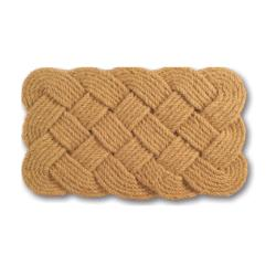 Rope Coir Braided Door Mat (30 x 18)