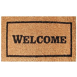 Welcome Door Mat (30x18)