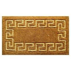 Greek Key Coir Door Mat (24 x 39)
