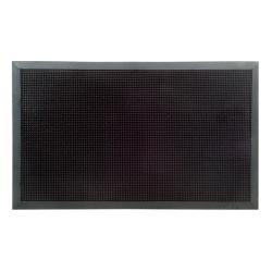 Black Rubber Stud Mat (47 x 18)