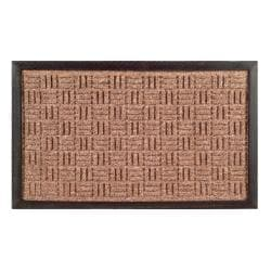 Synthetic Brown Door Mat (36 x 24)