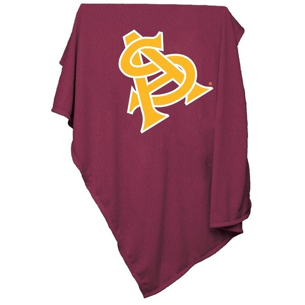 Arizona State Sweatshirt Blanket