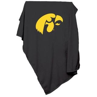 Iowa 'Hawkeyes' Sweatshirt Blanket