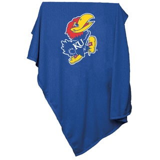University of Kansas 'Jayhawks' Sweatshirt Blanket