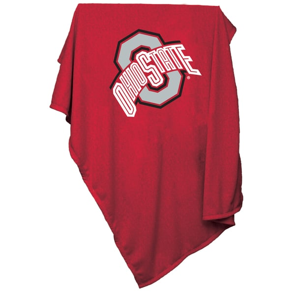 Ohio State Sweatshirt Blanket