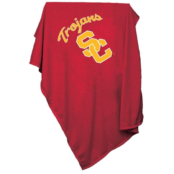 University of Southern California 'Trojans' Sweatshirt Blanket