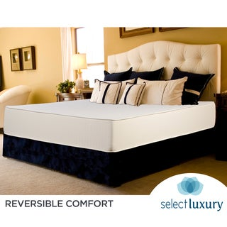 Select Luxury Reversible 12-inch King-size Foam Mattress