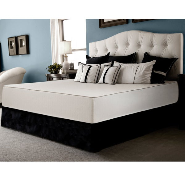 Select Luxury Flippable Firm 10-inch Full-size Foam Mattress